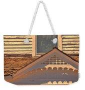 Victorian House Detail Weekender Tote Bag