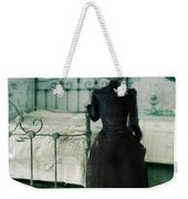 Victorian Lady In A Bedroom Weekender Tote Bag