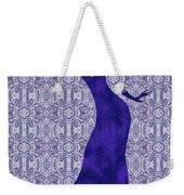 Victorian Lady In Blue Weekender Tote Bag