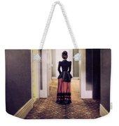 Victorian Lady In Hallway Weekender Tote Bag
