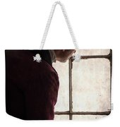 Victorian Man At A Window Weekender Tote Bag