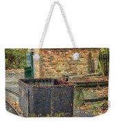 Victorian Mining Cart Weekender Tote Bag