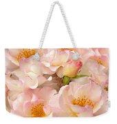Victorian Pink Roses Bouquet Weekender Tote Bag
