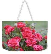 Victorian Rose Garden Weekender Tote Bag