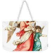 Victorian Scrap Relief Of The Christ Child Weekender Tote Bag