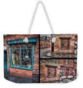 Victorian Shops Weekender Tote Bag by Adrian Evans