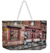 Victorian Stores England Weekender Tote Bag by Adrian Evans