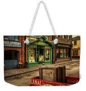 Victorian Town Weekender Tote Bag