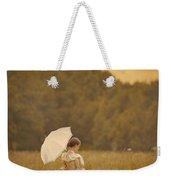 Victorian Woman In A Summer Meadow Weekender Tote Bag
