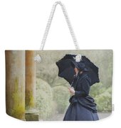 Victorian Woman On Stone Steps Weekender Tote Bag