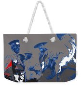 Victoriano Huerta Emilio Madero And Pancho Villa On The Right Ciudad Chihuahua May 1912-2014 Weekender Tote Bag