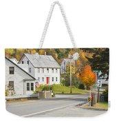 Vienna Maine In Fall Weekender Tote Bag