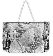 Vienna: Plan, 1860 Weekender Tote Bag