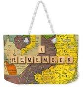 Vietnam War Map Weekender Tote Bag