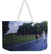 Vietnam War Memorial Weekender Tote Bag