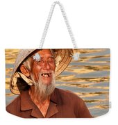 Vietnamese Boatman 02 Weekender Tote Bag