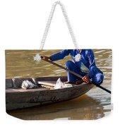 Vietnamese Boatwoman 01 Weekender Tote Bag