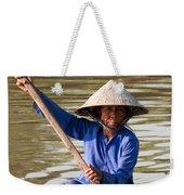 Vietnamese Boatwoman 02 Weekender Tote Bag