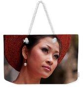 Vietnamese Bride 09 Weekender Tote Bag