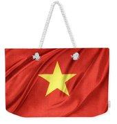 Vietnamese Flag Weekender Tote Bag