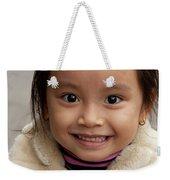 Vietnamese Girl 03 Weekender Tote Bag