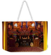 Vietnamese Temple Shrine Weekender Tote Bag