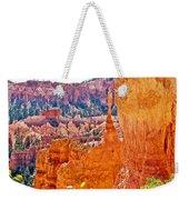 View At Beginning Of Navajo Trail In Bryce Canyon National Park-utah Weekender Tote Bag