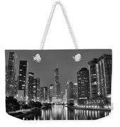 View Down The Chicago River Weekender Tote Bag