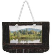 View From A Hide Impressions Weekender Tote Bag