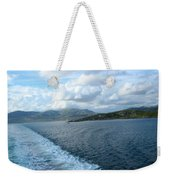 View From A Scottish Ferry Weekender Tote Bag