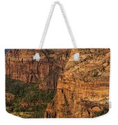 View From Angel's Landing 2 Weekender Tote Bag