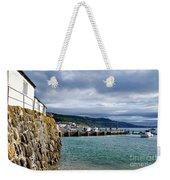 View From Back Beach - Lyme Regis Weekender Tote Bag