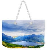 View From Bealach Ratagan To The Five Sisters Of Kintail Weekender Tote Bag