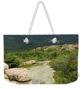 View From Cadillac Mountain - Acadia Park Weekender Tote Bag