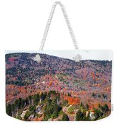 View From Devil's Courthouse 3 Weekender Tote Bag