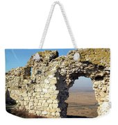 View From Enisala Fortress 2 Weekender Tote Bag