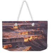 View From Grandview Point Canyonlands Weekender Tote Bag