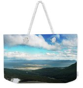 View From Martial Glacier, Ushuaia Weekender Tote Bag