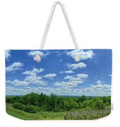 View From Monticello Weekender Tote Bag