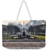 View From Rocky's Footsteps Weekender Tote Bag