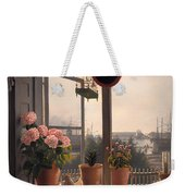 View From The Artist's Window Weekender Tote Bag
