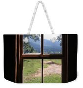 View From The Cabin Weekender Tote Bag by Todd Blanchard