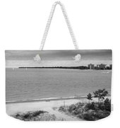 View From The Fort Gratiot Light House Weekender Tote Bag