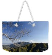 View From The Great Wall 842 Weekender Tote Bag