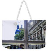 View From The Novodevichy Convent - Russia Weekender Tote Bag