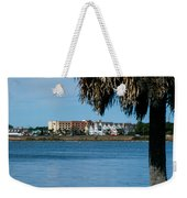 View From The Palms Weekender Tote Bag