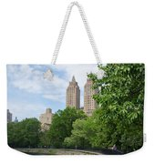 View From The Park West Side Weekender Tote Bag