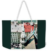 View From The Top Of Munich City Hall Weekender Tote Bag