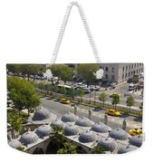 View From The Valens Aqueduct In Istanbul Weekender Tote Bag