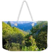 View From Trail To West Point Inn On Mount Tamalpais-california  Weekender Tote Bag